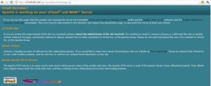 cpanel whm default welcome page