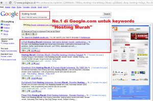 e-Padi.com Hosting Murah No.1 di Google Search Engine 1 - e-Padi.com